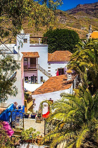 Villa Mogán pueblo BnB Mogan Village - Properties Abroad Gran Canaria