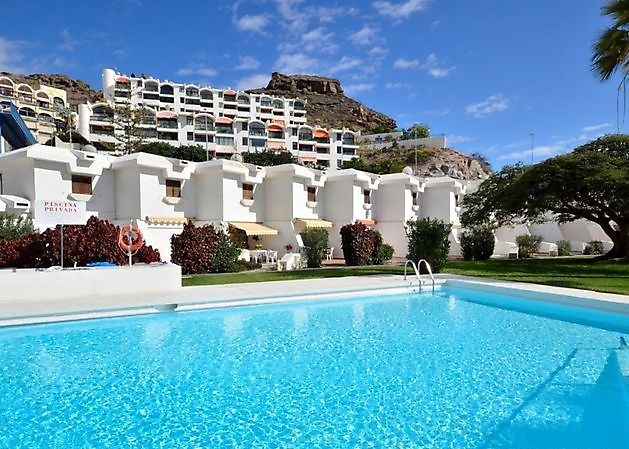 Apartment BEACH FRONT Puerto Rico - Properties Abroad Gran Canaria